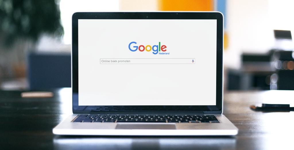 Online je boek promoten via Google