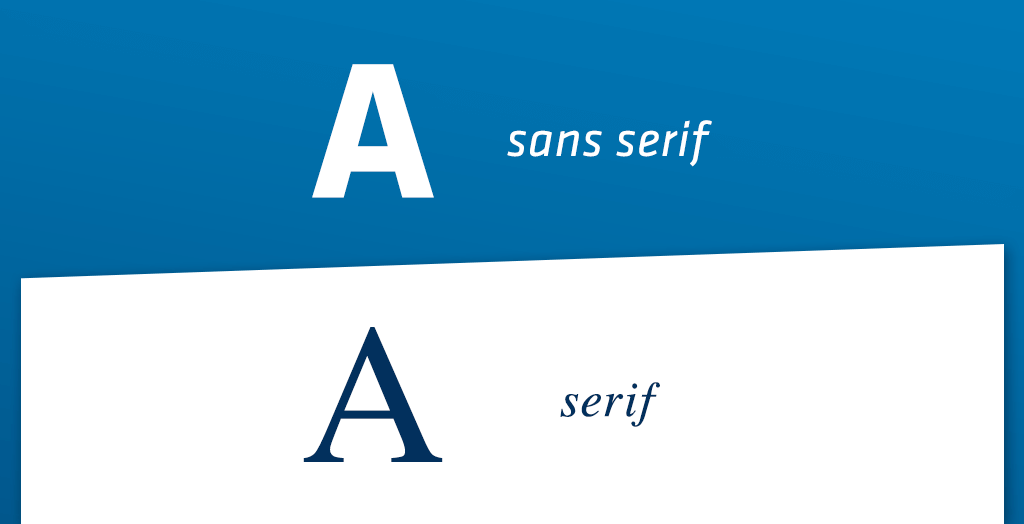 Lettertype boek sans serif