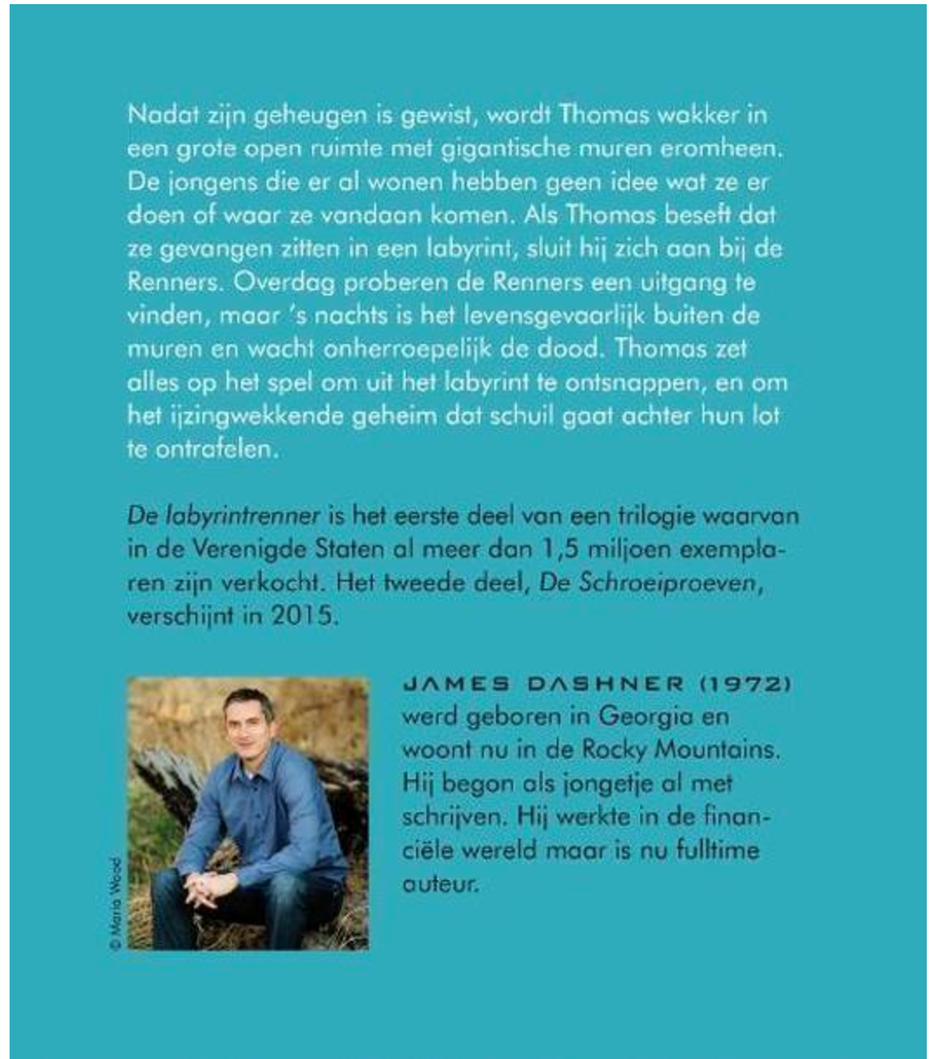proloog schrijven voorbeeld James Dasher